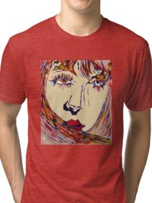 unknown woman RB Tri-blend T-Shirt