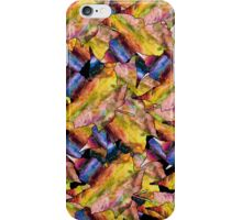 Digital Fall Maple Leaves iPhone Case/Skin