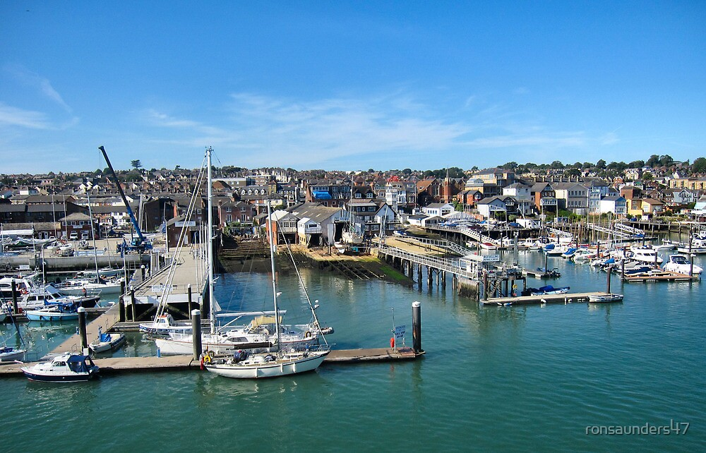 The marinas and boatyards of Cowes.2 by ronsaunders47