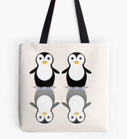 PENGUIN PAIR Tote Bag