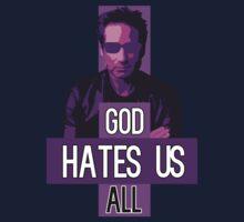 God Hates Us All - Hank Moody - Californication Kids Tee
