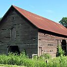 A Simple and Old Timey Barn by © Bob Hall