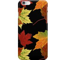 Colorful Fall Leaves iPhone Case/Skin