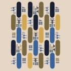 Skateboard Assembly Pattern (BLU) by Benjamin Whealing