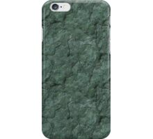 Chiseled Gray Green Rock iPhone Case/Skin