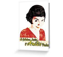 Le fabuleux destin d'Amélie Poulain Greeting Card
