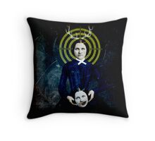 going out of my mind Throw Pillow