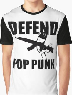 Hank The Pigeon, Defend Pop Punk Graphic T-Shirt