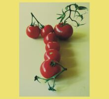 T is for TOMATOES! One Piece - Short Sleeve