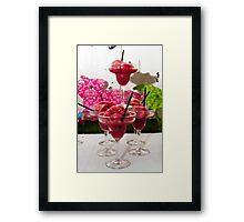 drinks Framed Print