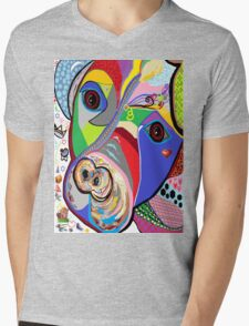 Pretty Pitty Mens V-Neck T-Shirt