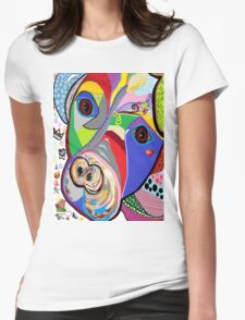 Pretty Pitty Womens Fitted T-Shirt