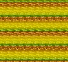 Yellow Orange and Green Sand Dunes by pjwuebker