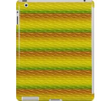Yellow Orange and Green Sand Dunes iPad Case/Skin