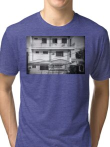 Windows of neighbor Tri-blend T-Shirt