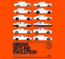Nissan Skyline History Kids Clothes