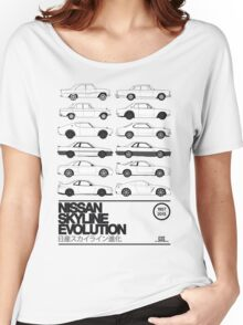 Nissan Skyline History Women's Relaxed Fit T-Shirt
