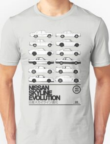 Nissan Skyline History T-Shirt