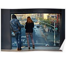 Watching the World: the High Line Poster