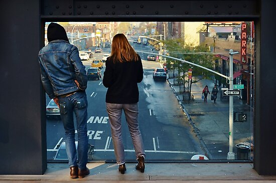 Watching the World: the High Line by Georgie Hart