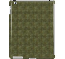 Xs and Os Pattern in Green iPad Case/Skin