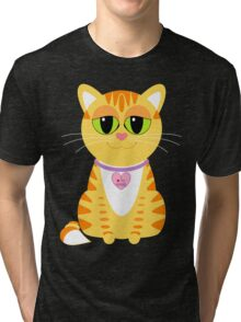 I LOVE MY HUMAN Tri-blend T-Shirt