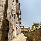 An alley in Valença by João Figueiredo