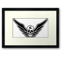 Street Fighter Shadaloo Shadowlaw Gaming Martial Arts Game  Framed Print