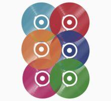 Vinyl Colors - Record Colours Rainbow DJ Kids Clothes