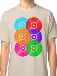 Vinyl Colors - Record Colours Rainbow DJ Classic T-Shirt