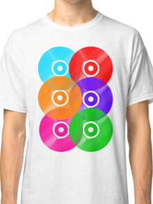 Vinyl Colors - Record Colours Rainbow DJ Classic T-Shirt