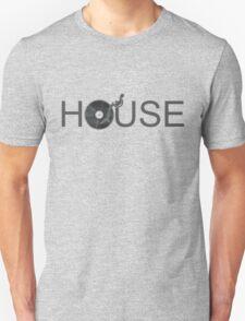 House Vinyl - Music Turntable DJ T-Shirt