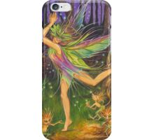 'Dancing on Faery Knoll' by Jo Morgan iPhone Case/Skin