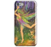 'Dancing on Faery Knoll' by Jo Morgan iPhone Case/Skin