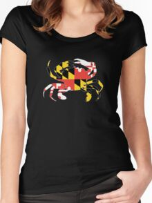 Maryland Crab Women's Fitted Scoop T-Shirt