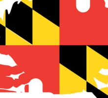 Maryland Crab Sticker