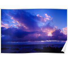 West coast sunset Tasmania Poster