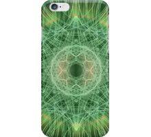 Green Nova Burst 01 iPhone Case/Skin