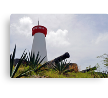 Gustavia, Saint Barthelemy. Canvas Print