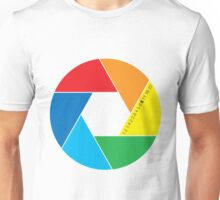 colorful aperture Unisex T-Shirt