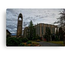 HDR Monestry Canvas Print