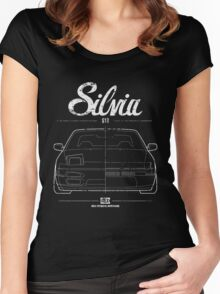 Silvia S13|180SX Women's Fitted Scoop T-Shirt