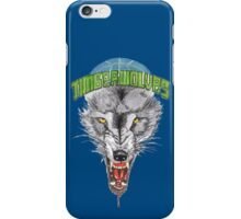 TIMBERWOLVES hand-drawing iPhone Case/Skin