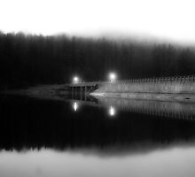 The Dam at Lake Redman by Shawn Huber