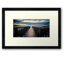 Pansrock Sunset Framed Print