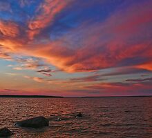 Hecla Island Sunset by Teresa Zieba