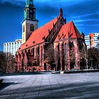 St. Marien Kirche by pdsfotoart