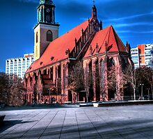 St. Marien Kirche by pdsfotoart