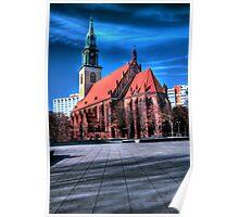 St. Marien Kirche Poster