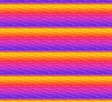 Vibrant Rainbow Sand Dunes by pjwuebker